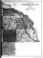 Outline Map - Right, Wabasha County 1915